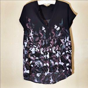 Simply Vera Vera Wang Shirt Size Large